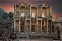 Biblioteca de Celso (antoniocamero21) Tags: celso de biblioteca efeso turqua antigedad ruinas atardecer color foto sony columnas cielo piedra