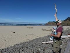 wangja of the beach (carolyn_in_oregon) Tags: oregon pacificocean ecolastatepark coast crescentbeach jacob al allie
