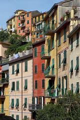 Riomaggiore (jjcordier) Tags: faade riomaggiore cinqueterre ligurie levante italie