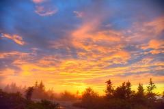 Cadillac Sunset Sky (esywlkr) Tags: nationalpark landscape color nature acadianationalpark acadia maine sky clouds sun sunset outdoors silhouettes