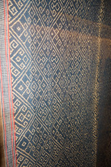 Sarawak Iban textile design (quinet) Tags: 2015 aborigne borneo iban kuching kuchingtextilemuseum malaysia sarawak ureinwohner aboriginal native