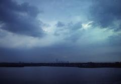WTC 215 (stevensiegel260) Tags: worldtradecenter twintowers 1980s newarkbay newjersey newyorkskyline manhattanskyline
