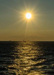 DSC03764-2 (UmitCukurel) Tags: split port vessel ferry ship sun sunset sonyalpha sky croatia city architecture transportation brusje splitskodalmatinskaupanija hr