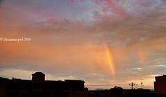 Arcoiris doble al amanecer (Arenamarysol Photography) Tags: arenamarysol puertovallarta amanecer sunrise rainbow arcoiris mexique sky cielo clouds messico