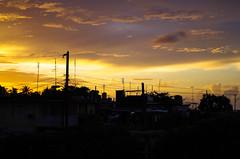 Varadero (Nature photo - Caroline) Tags: varadero cuba sunset toits nuage