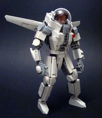 Daedalus Zero G Drop Suit (polywen) Tags: lego mecha hardsuit galidor
