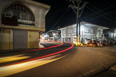 Light Trails Quezon (alien_scream) Tags: light car gabi night tricycle philippines lighttrails pinoy ilaw pinas mauban d90 quzon aliencream