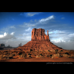 Monument Valley West Mitten Butte (j glenn montano 3) Tags: arizona west monument utah butte glenn nation valley navajo montano mitten justiniano