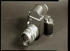 This is not how a SLR is made... (O9k) Tags: camera stilllife film analog studio papernegative 4x5 largeformat 9x12 schneider viewcamera cameraporn selfdeveloped homedeveloping symmar sinarp directpapershot
