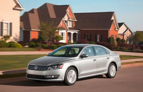 The 2012 Volkswagen Passat