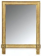 44. Large French Console Mirror