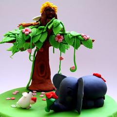 San Valentino - DSC_4163 (SaleCaramello) Tags: elephant flower love cake hearts mouse heart valentine cuori cuore amore torta elefante topolino sanvalentino cupido 14febbraio 14thfebruary pastadizucchero