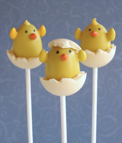Hatching Chicks Chocolate Truffle Pop Trio