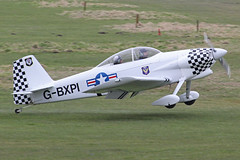 Vans RV-4 G-BXPI (QSY on-route) Tags: city manchester airport 4 vans barton rv pfa egcb gbxpi 24022013 18112426