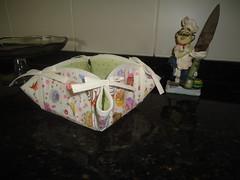 Mais uma cestinha. (doces retalhos) Tags: patchwork tecido cestinha