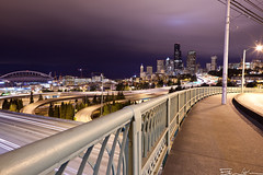 Goodbye Seattle (Edwin_Abedi) Tags: seattle city bridge light urban long exposure cityscape traffic trails 24mm ef24mmf14liiusm