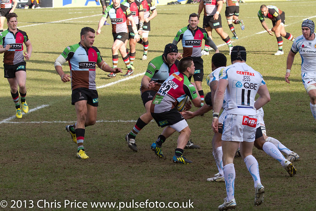 Ben Botica ready for the tackle