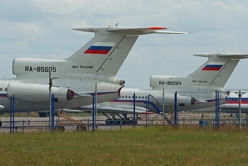 Tu-154B-2 'RA-85594' & 'RA-85605'