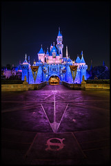 A Funny Thing Happened at Disneyland... (Gregg L Cooper) Tags: sleeping castle beauty night canon eos disneyland disney explore 5d hdr mkiii