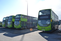 Arriva North West 4502 MX13AFF - 4502 (4503) MX13AFJ - 4505 (4506) MX13AEG - 4514 (4515) MX13ACZ - 4503 (4504) MX13AEE (Will Swain) Tags: street uk england west bus buses liverpool march tour garage north birkenhead trust vehicle depot restoration laird 3rd merseyside 4504 arriva 4505 4502 2013 4503 4506 4515 4514 nwvrt mx13aeg mx13aee mx13aff mx13afj mx13acz