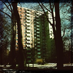 The house where I was born (Casey Hugelfink) Tags: munich mnchen concrete plattenbau bogenhausen parkstadtbogenhausen