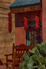 Red Chile Ristras (NM Flower Girl) Tags: newmexico albuquerque oldtown ristra redchile redchileristra