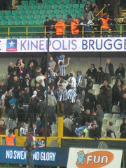 Brugge and Newcastle fans (fergi19) Tags: club newcastle army europa united brugge toon league