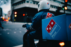 Domino's (Crusade.) Tags: street leica uk england people london 35mm bokeh voigtlander rangefinder snap nokton rf f12 m9 3512
