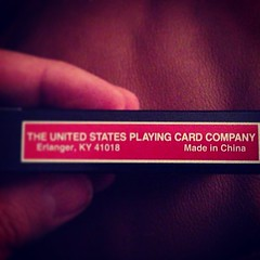 And here is the #Ironic secret behind the cheap dollar deck made by The United States Playing Card Company. :D / on Instagram http://instagr.am/p/W0_7wKsmtN/ (JonZenor) Tags: photos tumblr instagram