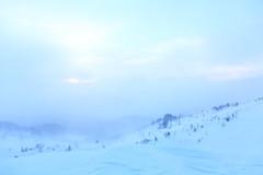 "snowstorm. ""美幌峠"""