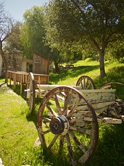 Wagon Wheel (savanapridi) Tags: california park old heritage wheel rural wagon williams decay junction historic hart omd santaclarita newhall losangelescounty em5