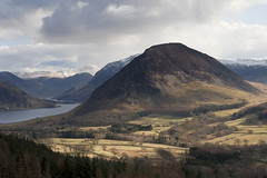 Mellbreak (Nick Landells) Tags: lake snow lakedistrict haystacks cumbria fells fell crummockwater buttermere brandreth greatgable fleetwithpike crummock cumbrian highstile melbreak greengable mellbreak rannerdaleknotts