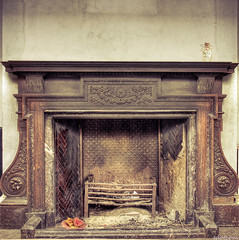 Eat me/Drink me (tdotcom) Tags: school abandoned me canon fireplace drink alice disney eat wonderland derelict in 1000d