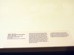 The Words as ART with Words exhibit at the Asian Art Museum (Csar Dergarabedian) Tags: sanfrancisco china japanese chinese exhibit calligraphy corean coreano asianartmuseum chino japons caligrafa corea japn caligrafas wordsasartwithwords