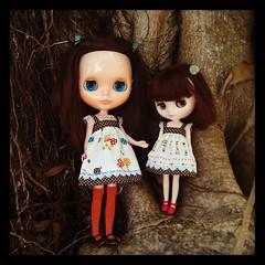 Jorja and kid sister, Sydney.