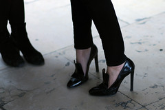 Black (Karl Hab) Tags: paris fashion rouge heels karl week hab moncler pfw 2013 gamme karlhab pfw2013