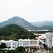 Shenzen (nosha) Tags: china red mountains green cn march flag shenzen 2013