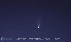 Pan-starrs close (-_Scott Mason Photography-) Tags: zoom astro telescope telephoto astrophotography astronomy comet panstarrs astrometry Astrometrydotnet:status=solved Astrometrydotnet:version=14400 Astrometrydotnet:id=alpha20130322020147