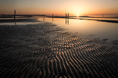 Sunrise at Lowtide (Lane Rushing) Tags: morning sunrise mississippi baystlouis lowtide bigmomma mississippigulfcoast herowinner storybookwinner storybookttwwinner