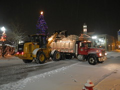 Chagrin Falls Downtown Snow Removal