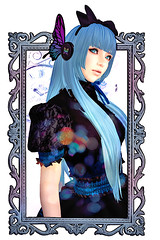 Magnet (Zilypon) Tags: blue music cute blu alice lolita secondlife kawaii second wonderland magnet rmk hunt vocaloid rokumeikan