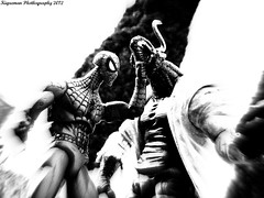 Lizard vs Spider-Man 10 (THE AMAZING KIKEMAN) Tags: man america comics scott toy photography james spider iron action steve cyclops tony lizard scorpion peter xmen captain figure legends carnage rogers curt logan biz marvel stark universe parker crossbones wolverine connors hasbro summers howlett