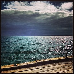 instagrammed (raqib) Tags: blue sea water mobile square pier lofi squareformat mayfair rc frankston iphone amaro shadesofblue frankstonpier raqib raqibchowdhury iphoneography instagram instagramapp uploaded:by=instagram instagrammed foursquare:venue=4dc4fb28b0fb5556cce51445