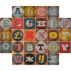 MAGPIE plate alphabet (Leo Reynolds) Tags: fdsflickrtoys photomosaic squircle abcdefghijklmnopqrstuvwxyz letterset 0sec hpexif mosaicalphabet mosaicsquircle xleol30x