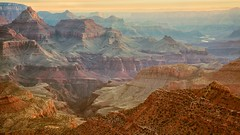 Grand View (Kirk Lougheed) Tags: arizona sunrise landscape dawn vishnu grandcanyon canyon coloradoriver grandview southrim grandcanyonnationalpark vishnutemple grandviewpoint templeofvishnu
