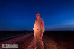 Sky Watcher (MattPenning) Tags: blue selfportrait me night stars twilight pentax farm sigma bluesky farmland potd nightsky bluehour prairie k5 springfieldillinois ruralroad mattpenning kmount sigma1020mmf456exdc mattpenningcom penningphotography justpentax pentaxk5
