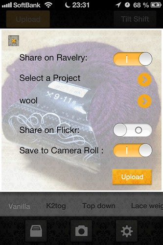 Yarma - Your Ravelry Camera App