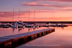 Chatfield Marina (RondaKimbrow) Tags: water clouds marina sunrise boats dock colorado peaceful serene sailboats stateparks chatfieldstatepark chatfieldmarina