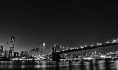 Brooklyn Bridge (Jani Foeldes) Tags: park new york city bridge usa brooklyn nikon manhattan mm monochrom nikkor 18105 d7000