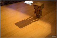 Shadow (Only in RAW ) Tags: japan canon toys happy robot amazon box weekend explorer mini days cardboard danny 365 danbo amazoncojp 366 toyphotography revoltech danbee danboard 366daysproject minidanbo amazonyoucanalsovisitmynewahrefhttponlyinrawwordpresscombloga